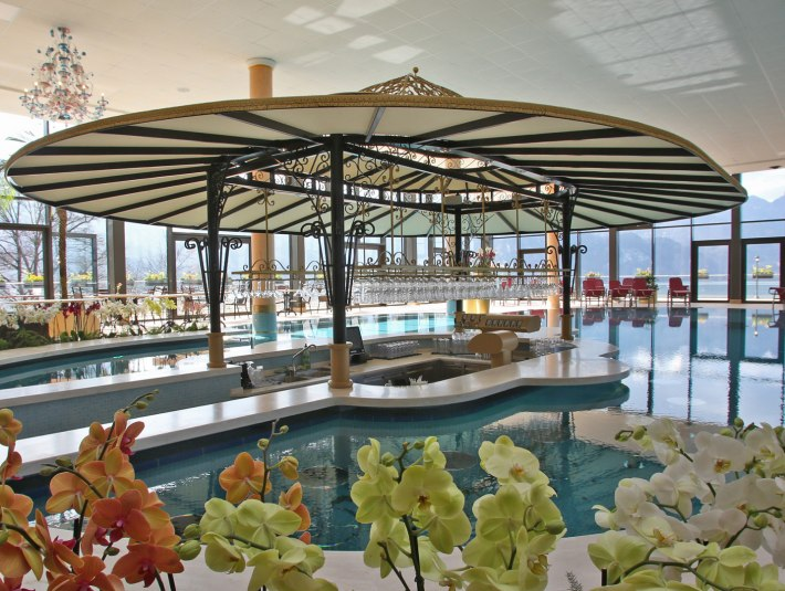 Poolbar Kristall Therme Kochel am See, © Tourist Information Kochel a. See